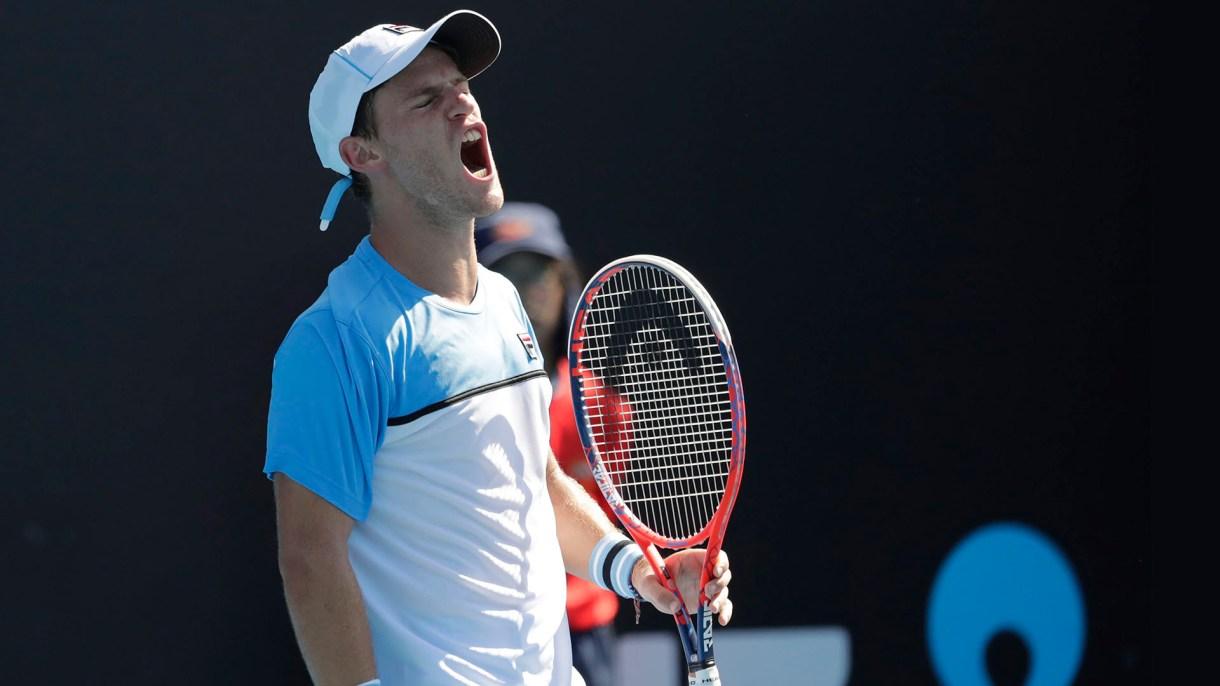 Diego Schwartzman se quejó con la ATP por tener que jugar cuatro días consecutivos (EFE/EPA/MAST IRHAM)