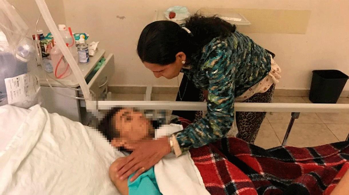 El joven de 23 años pasó semanas en el hospital herido de gravedad. (Foto: Especial)