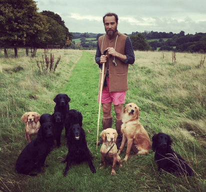 James Middleton fue diagnosticado con dislexia y Trastorno por Déficit de Atención (Instagram: James Middleton)
