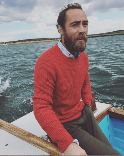James Middleton (Instagram: James Middleton)