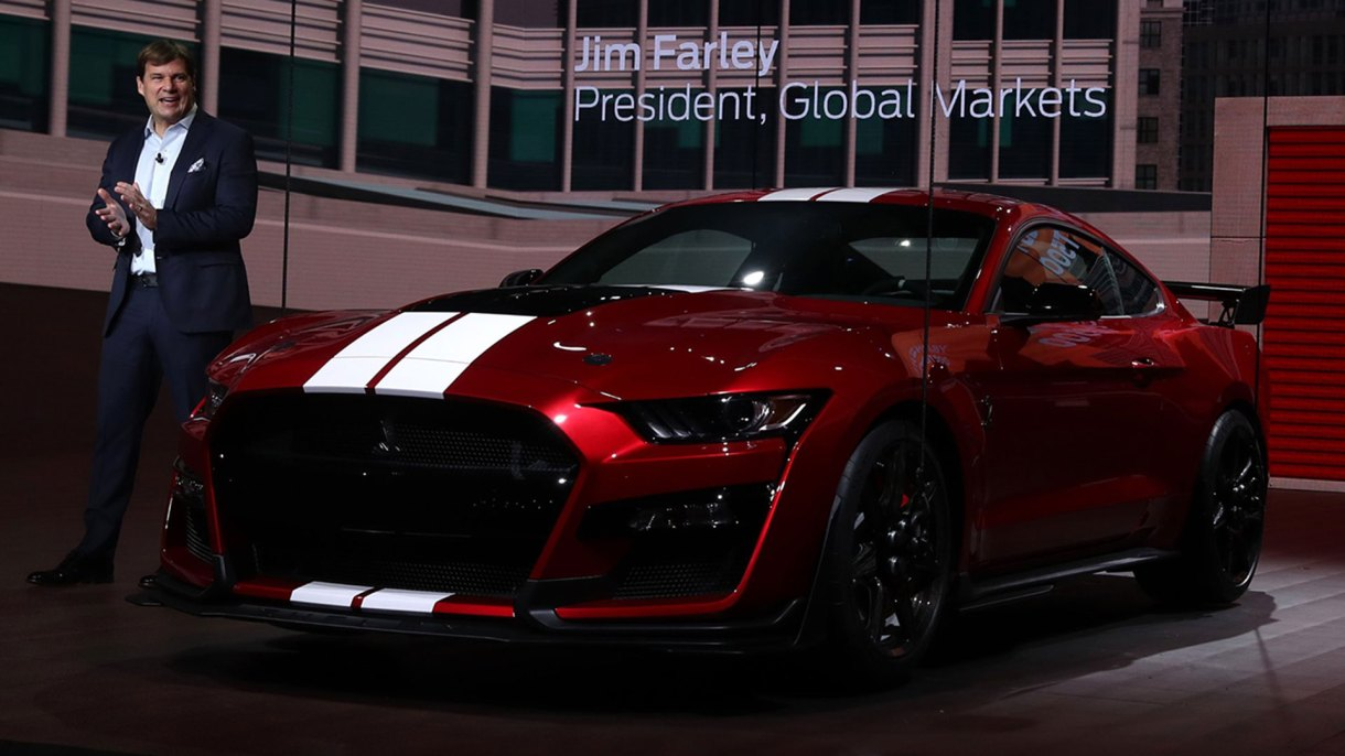 El Ford Mustang Shelby GT500 2020 (Reuters)