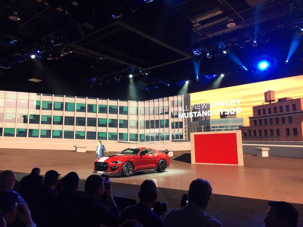 Ante una gran expectativa, Ford presentó el muy esperado Ford Shelby GT500