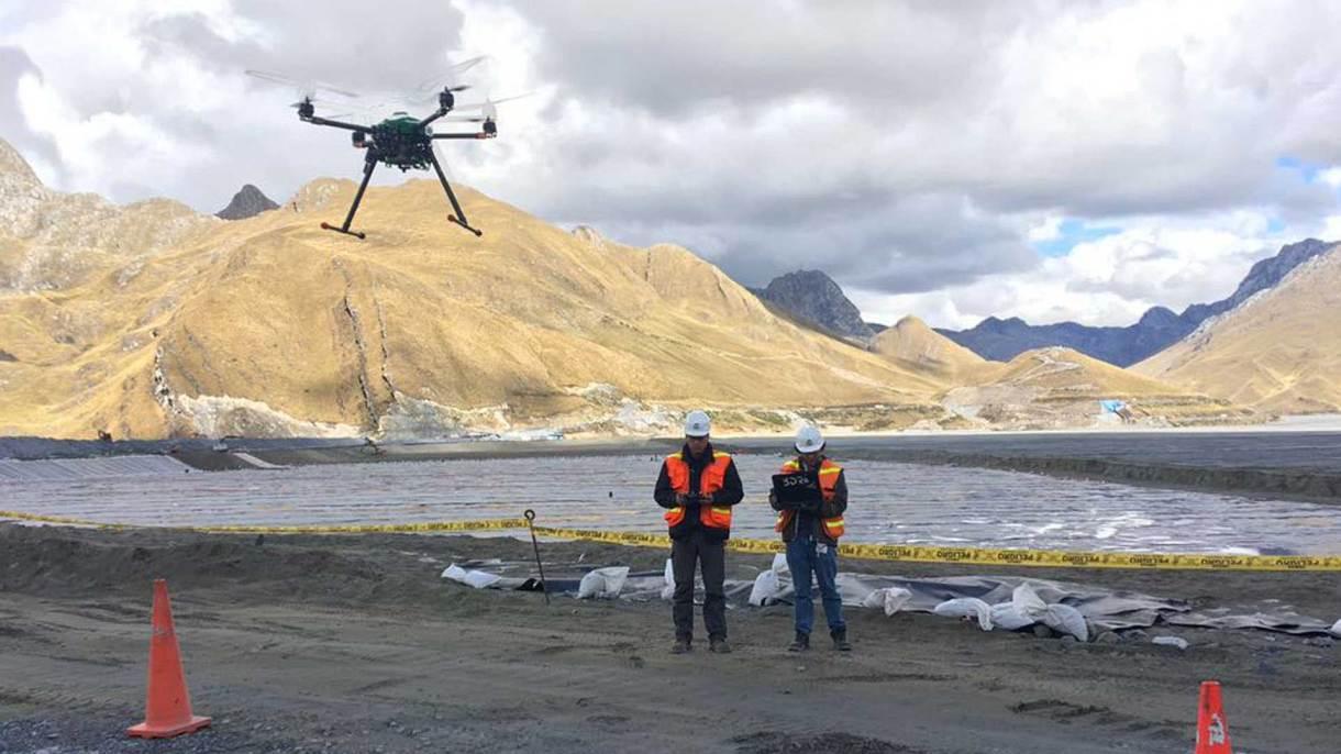Las empresas del sector minero de Perú, las principales clientes de qAIRa. Foto: Gentileza Mónica Abarca.