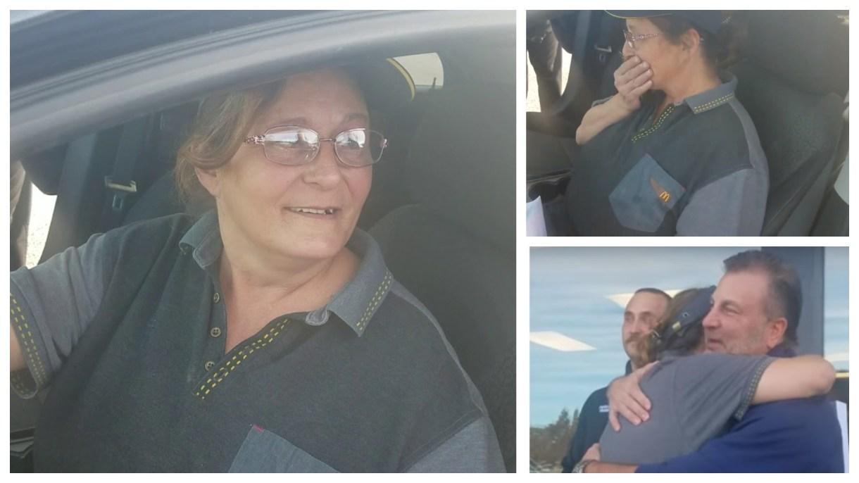 A la mujer de 53 años se le había descompuesto su auto (Foto: Captura de pantalla)