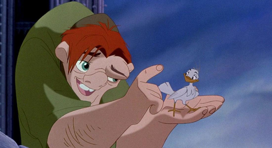 """Fotograma de la película animada de Disney """"El jorobado de Notre Dame"""", estrenada en 1996 y basada en una novela de Víctor Hugo (Foto: Disney)"""