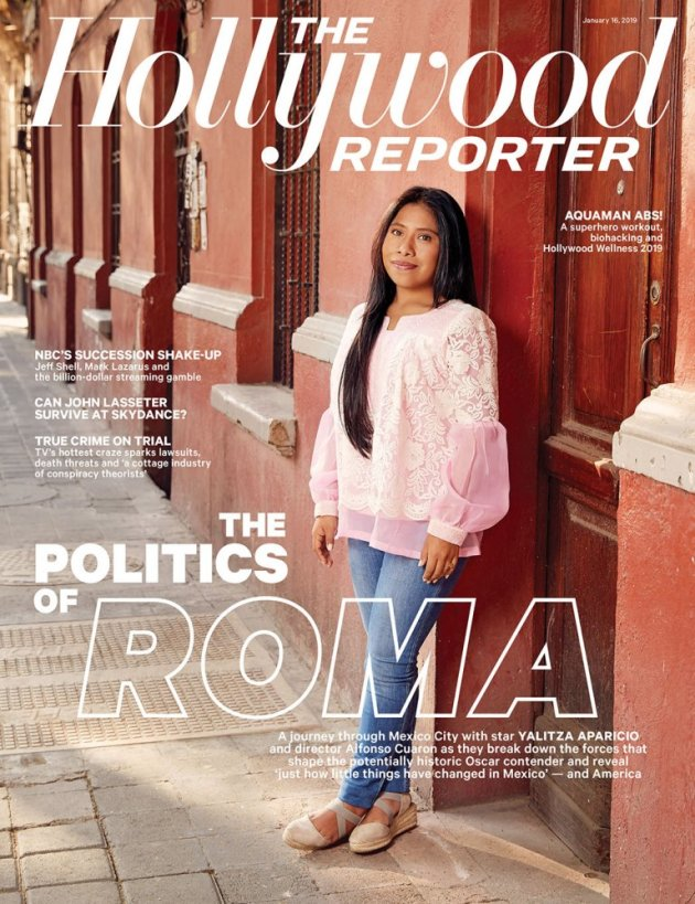 Yalitza Aparicio en la portada de The Hollywood Reporter (Foto: The Hollywood Reporter)