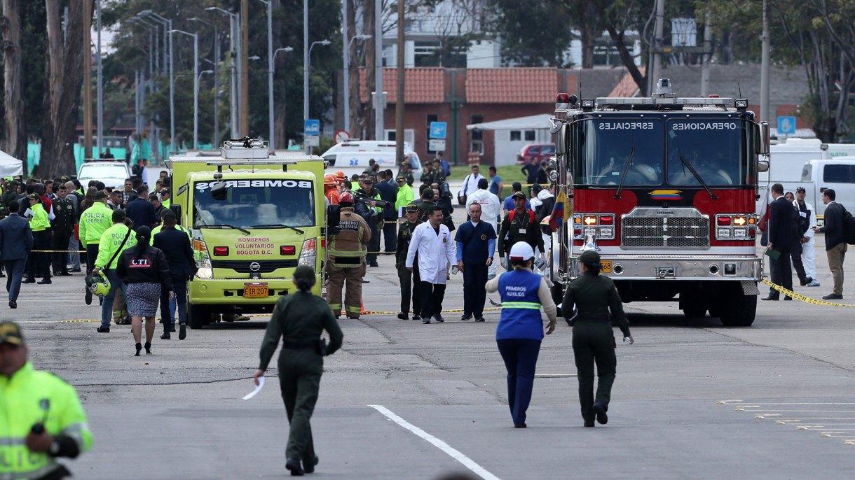 Autoridades y el Gobierno Nacional atienden la emergencia (EFE)