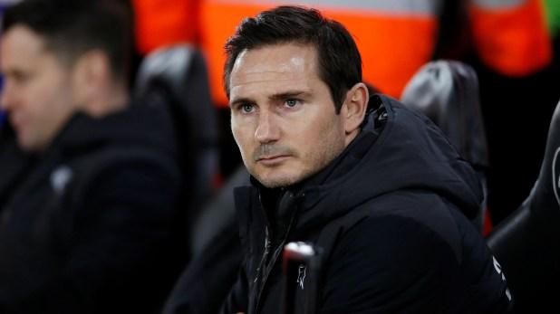 El emblemático ex futbolista británico Frank Lampard dirige al Derby County (REUTERS/David Klein)