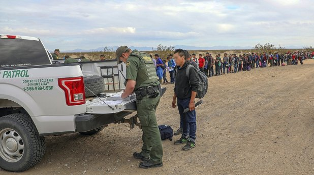 La Agencia de Aduanas y Protección Fronteriza de Estados Unidos(Foto: AP)