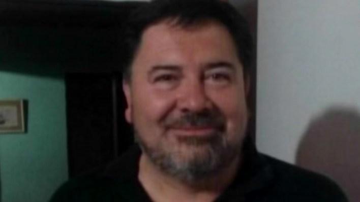 Casimiro Abel Campos, pareja de Gissella