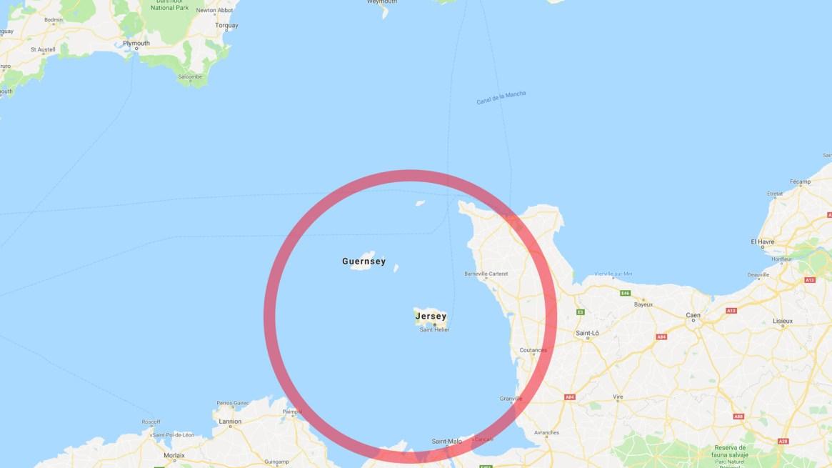 La zona en la que se recibió el último contacto con la aeronave