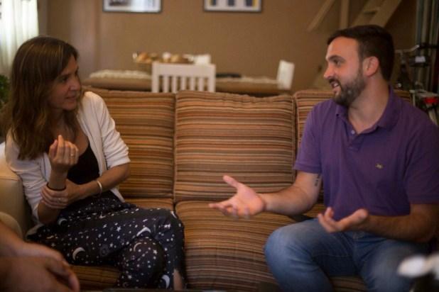 Leonardo Grosso estuvo con la diputada Fernanda Raverta de Unidad Ciudadana