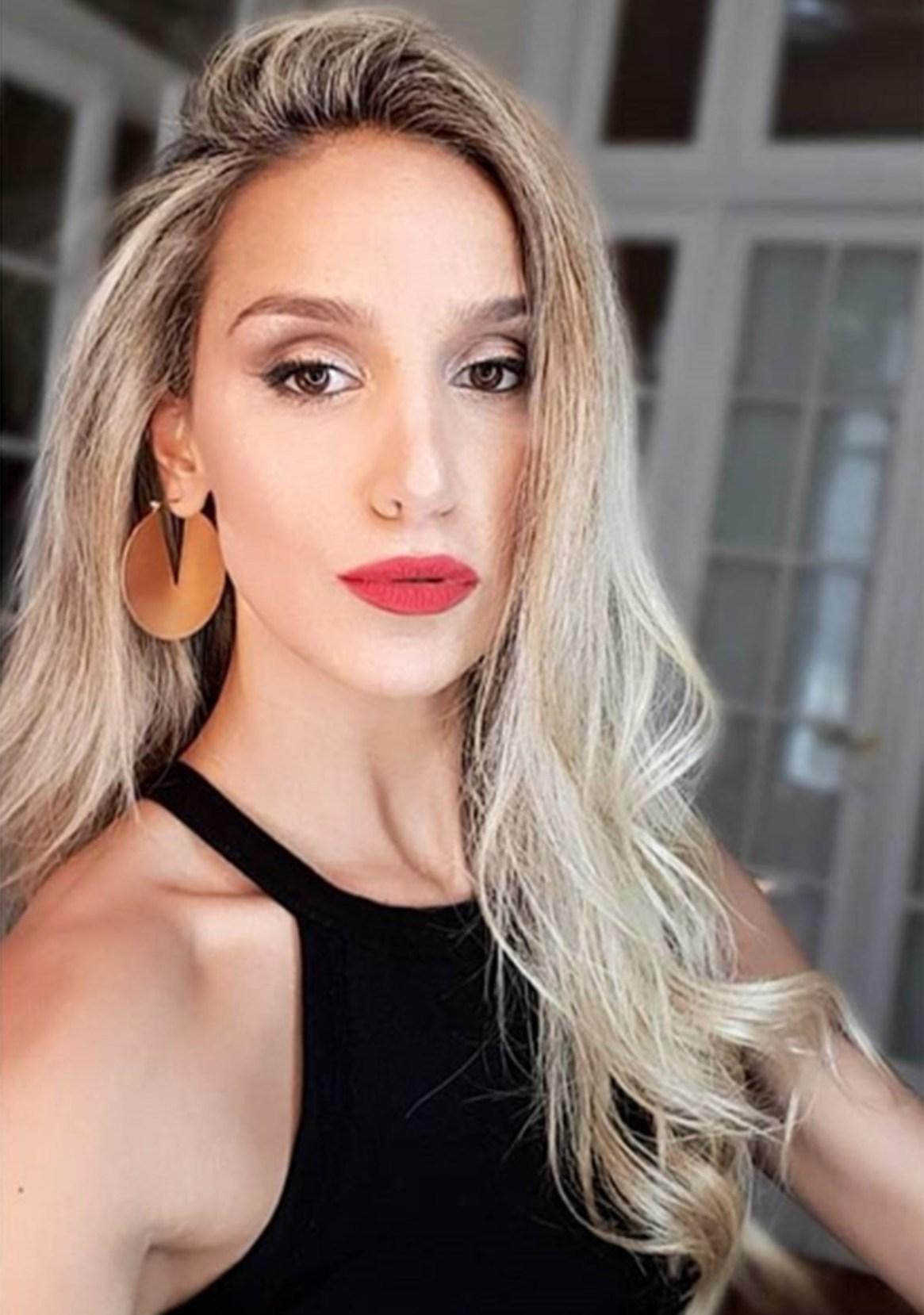 Martina Scigliano, en una de las fotos que posteó en su Instagram