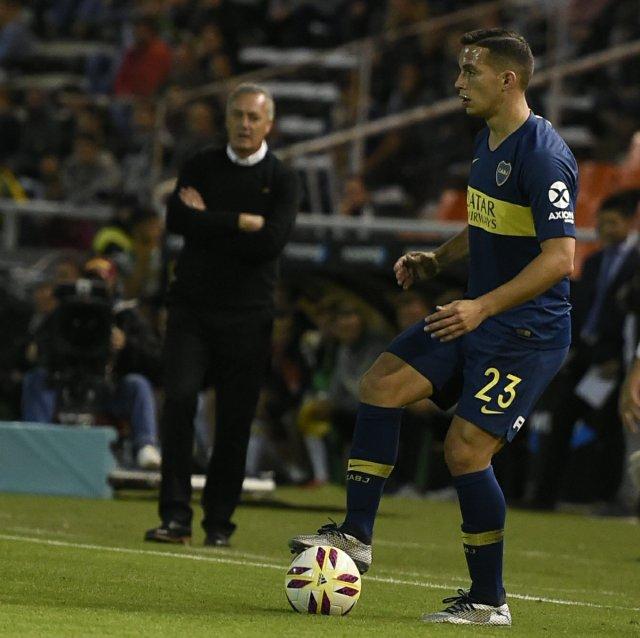 Marcone registra una convocatoria con la Selección en la era Bauza (Foto: Prensa Boca)