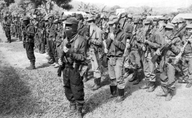El ejército del subcomandante Marcos en Chiapas