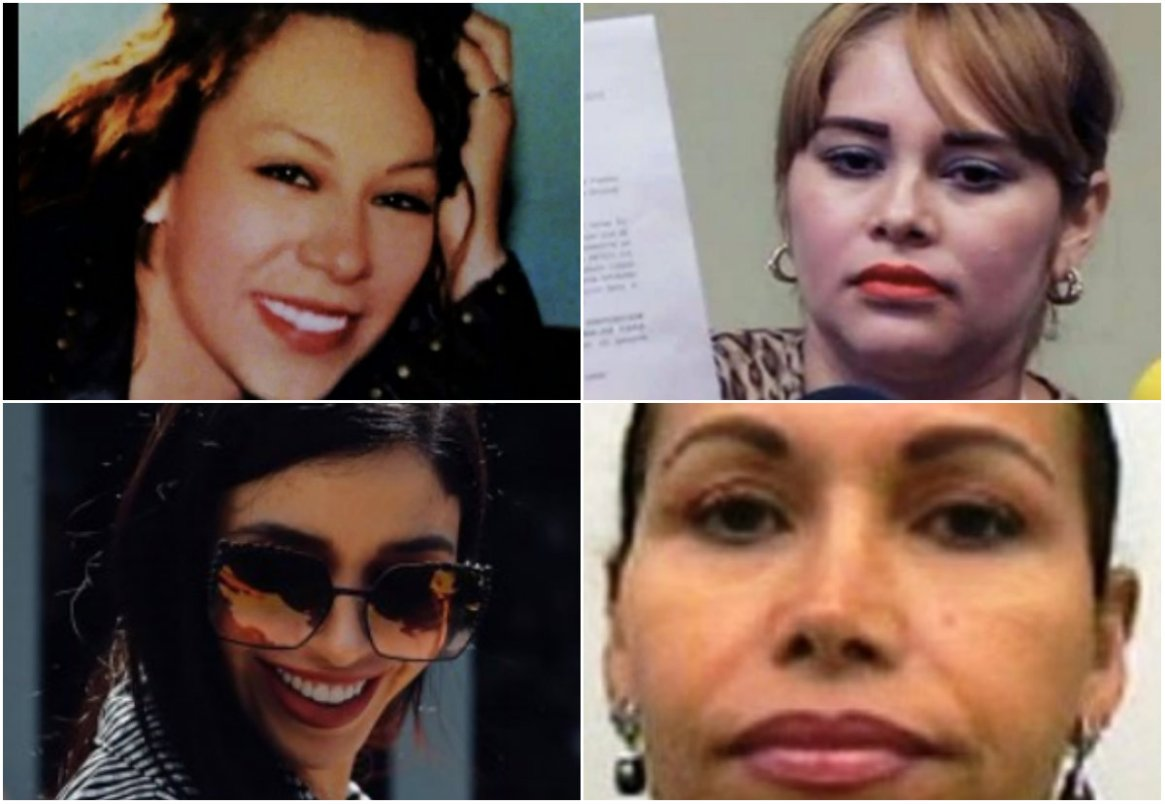 Torturas, detenciones o estar bajo la mira de las autoridades: la suerte de las mujeres que estuvieron con Joaquín Guzmán Foto: Archivo)