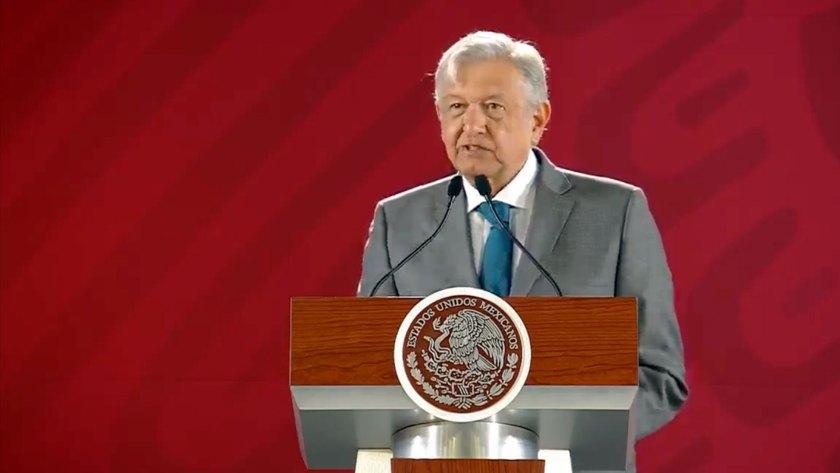 El presidente de México, Andrés Manuel López Obrador, ha argumentado el principio de no intervención en el caso Venezuela (Foto: Archivo)