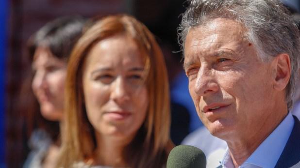 María Eugenia Vidal y Mauricio Macri (Foto: Christian Heit)