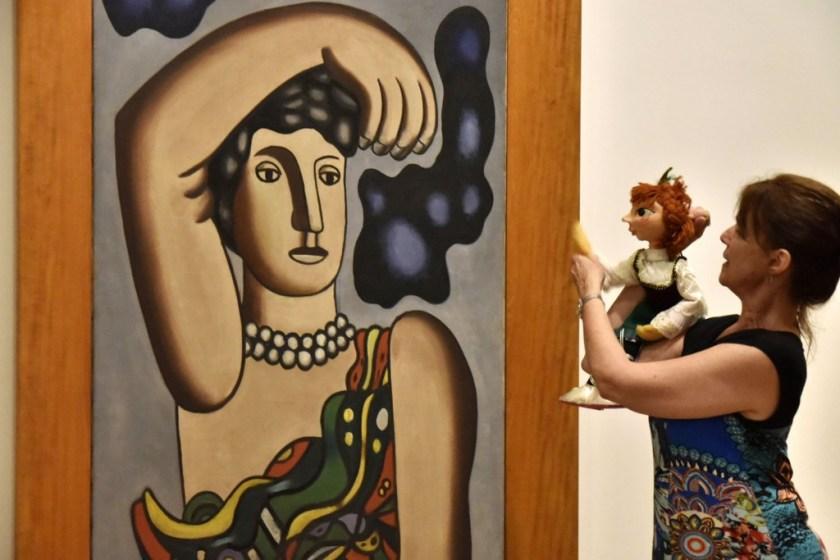 Historias de circo en el Bellas Artes