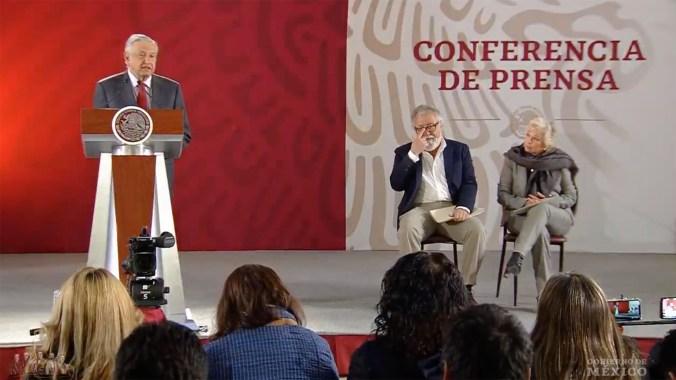 López Obrador encabezó la presentación de la estrategia nacional de búsqueda de desaparecidos. (Foto: Especial)