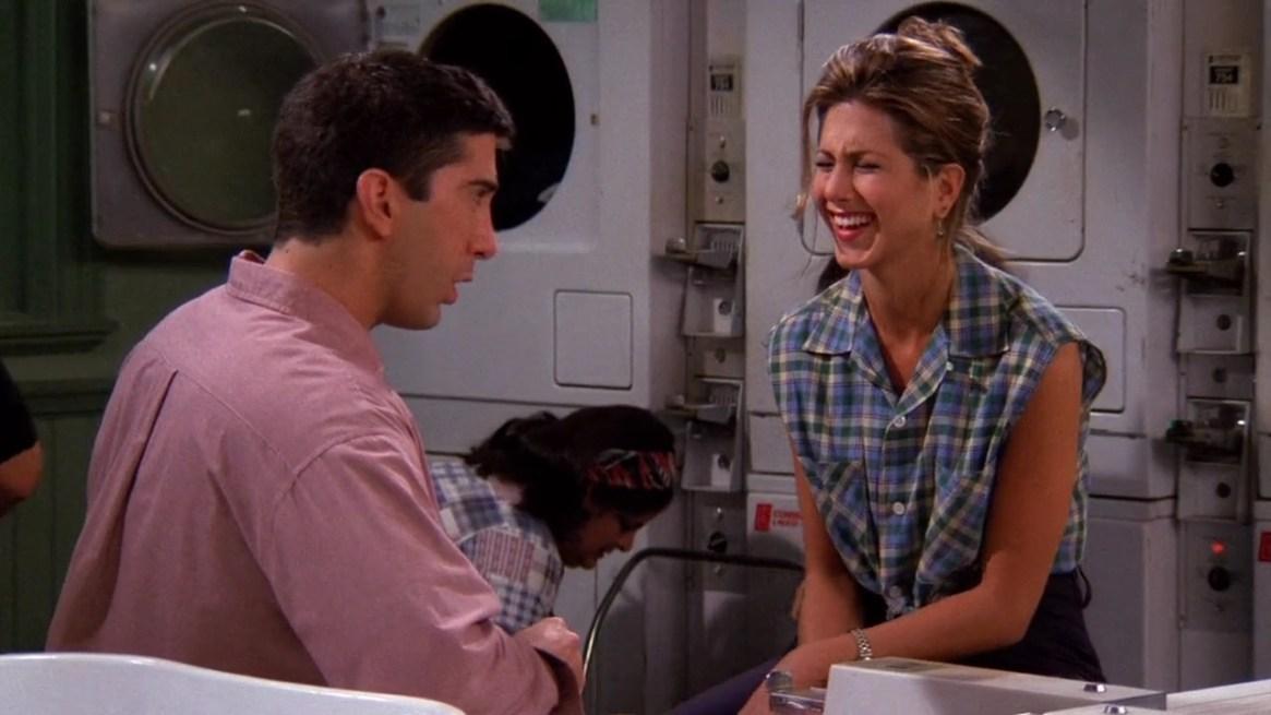 """La historia de amor entre Rachael Green y Ross Geller atrapó a los fanáticos de """"Friends"""""""