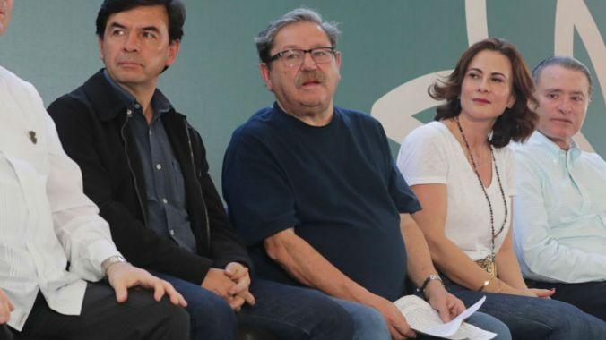 A finales de enero, presentó junto al presidente la Estrategia Nacional de Lectura (Foto: Secretaría de Cultura)