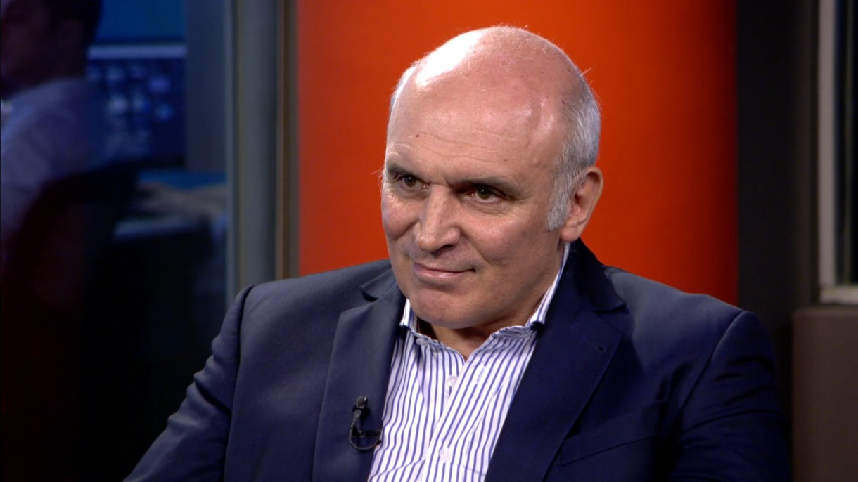 José Luis Espert pasó por la Feria del Libro