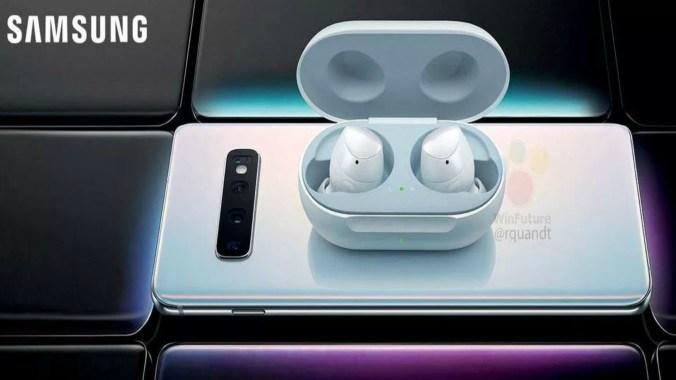 Así serían los nuevos auriculares del Galaxy S10 (Foto: WinFuture)