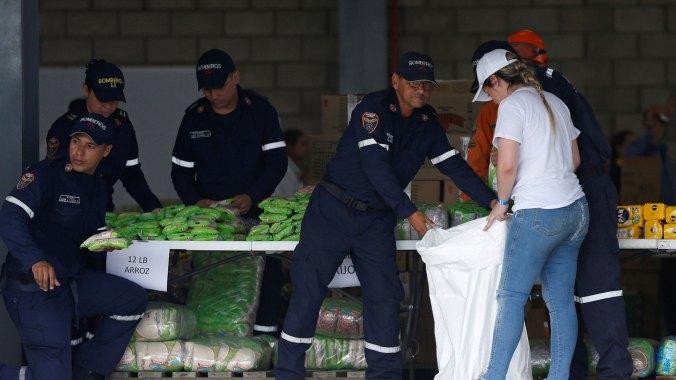 La ayuda humanitaria que será enviada a Venezuela (Reuters)