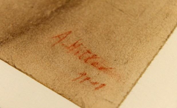 La supuesta firma de Hitler