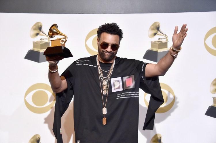 Shaggy, ganador en la categoría mejor álbum de reggae (Alberto E. Rodriguez/Getty Images para The Recording Academy/AFP)