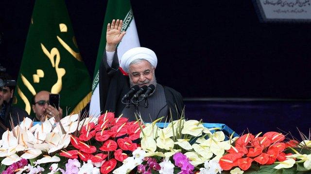 Aniversario de la revolución islámica (Reuters)
