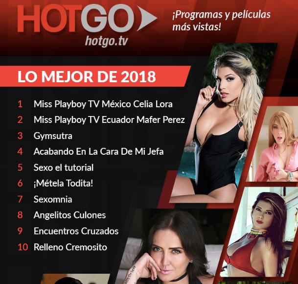 Celia Lora fue la más vista de 2018 en la plataforma (Foto: HotGo.tv)