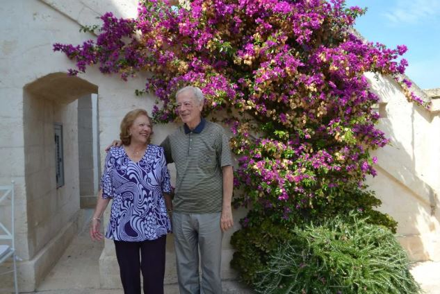 Marilena Lerario y Aldo Sportelli el día de su reencuentro. Habían pasado 68 años desde el último adiós (Gentileza The Washington Post)