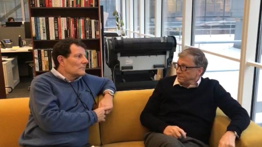 Bill Gates dialogó con Nicholas Kristof, columnista de The New York Times, sobre su carta anual.