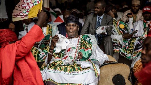Atiku Abubakar, candidato opositor a la presidencia (AFP)
