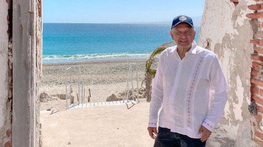 López Obrador anunció cambios para las míticas Islas Marías (Foto: Twitter lopezobrador_)
