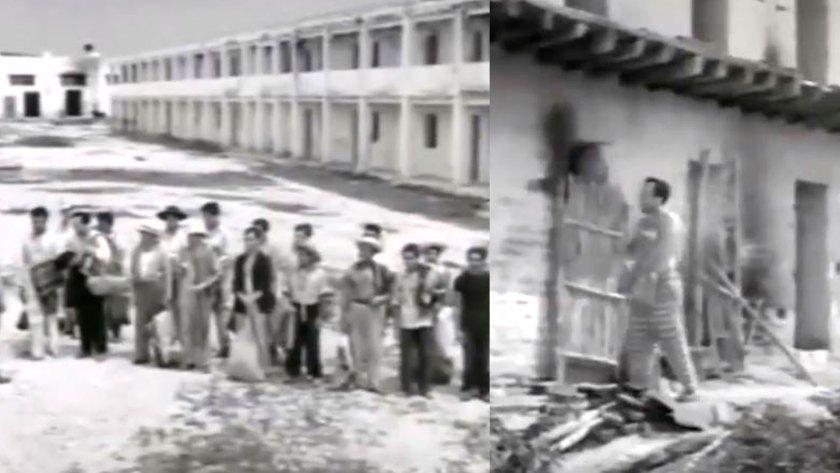 El filme muestra los trabajos pesados que hacían tan temida esa cárcel para los delincuentes (Foto: Captura)