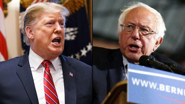 Bernie Sanders se presentó en Fox News para intentar atraer a la base votante de Trump