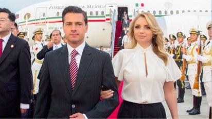 En el viaje a Francia en julio de 2015, Peña Nieto estuvo acompañado por su esposa y otras 143 personas (Foto: Facebook EnriquePN)