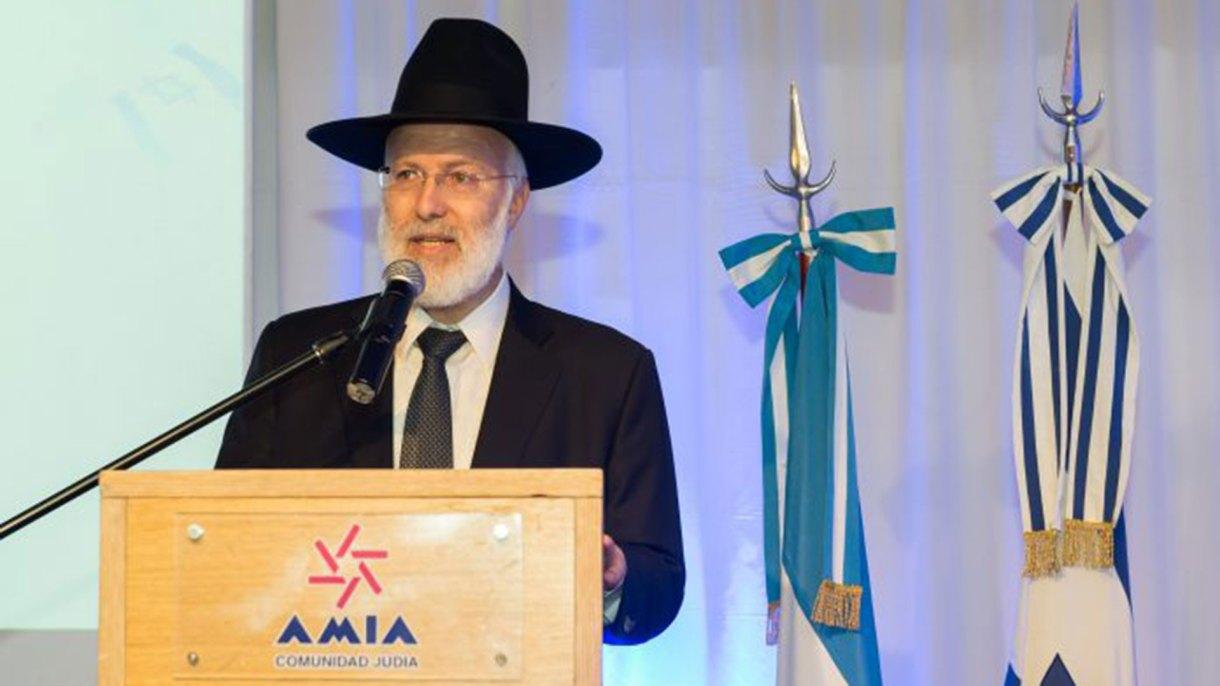 Gran Rabino Gabriel Davidovich (AMIA)