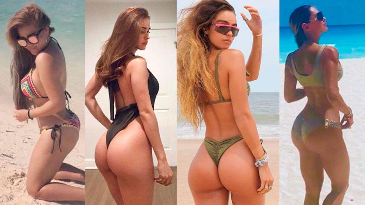 Los seguidores de Yanet García la compararon con un par de famosas mexicanas y una estadounidense por su principal atractivo visual (Foto: Instagram iamyanetgarcial, SommerRay, Gomita, Ninel Conde)