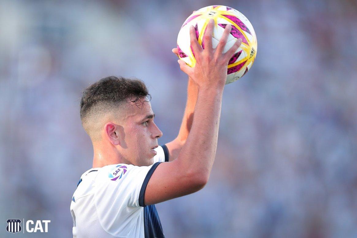 A Gonzalo Maroni se le vencerá el préstamo en Talleres en junio de este año y deberá retornar a Boca (@CATalleresdecba)