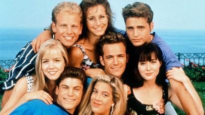 """El elenco de """"Beverly Hills 90210"""""""