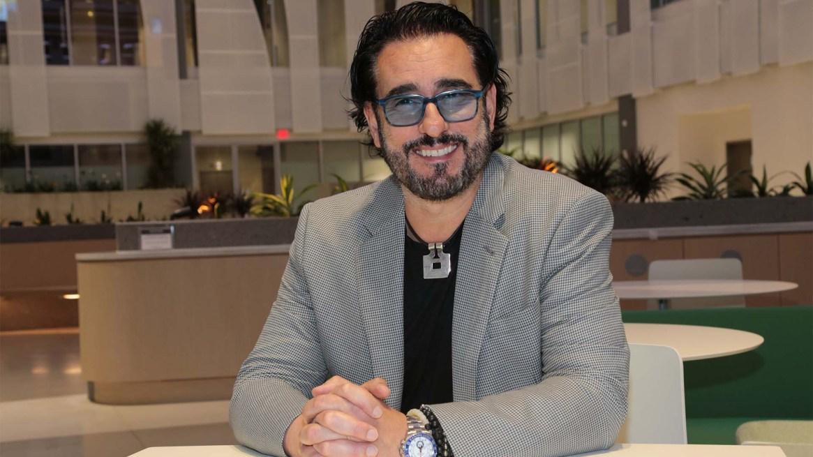 Miguel Varoni, director creativo de Telemundo Global Studios (foto: Luis Fernandez)