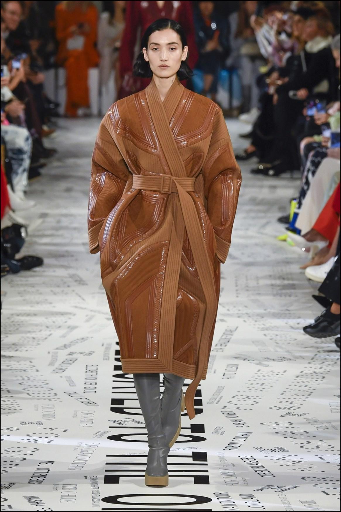 Todos los diseños estuvieron combinados con botas Hunter. El marido de Stella es el director creativo deesa marca.