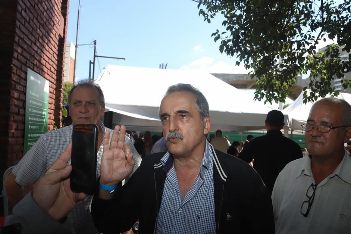 El ex secretario de Comercio, Guillermo Moreno