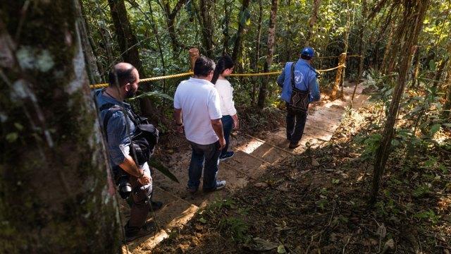 En total, 12 senderos naturales conforman la ruta ecoturística en la que se pueden realizar caminatas, avistamiento de aves y deportes de aventura