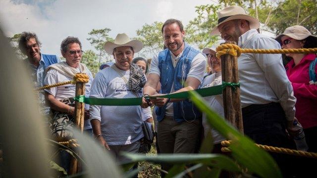 El príncipe Haakon de Noruega inauguró la ruta el pasado 14 de febrero