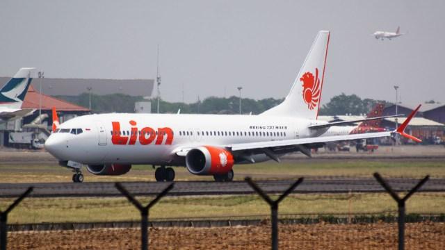 Un Boeing 737 MAX 8 de Lion Air, como el accidentado en octubre de 2018 (Wikipedia)
